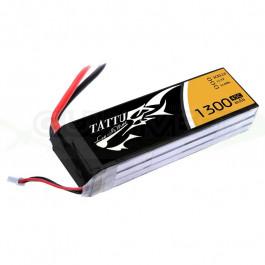 Batterie LI-PO Tattu 1300mAh 11.1v 45c 3s