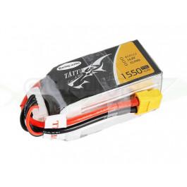Batterie LI-PO Tattu 1550mAh 14.8v 75c 4s RS