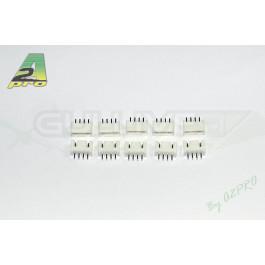 Connecteurs femelle jst-xh 3s (par 10)
