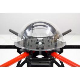 Chassis hexacopter quadframe avec support montage pour moteurs 28mm