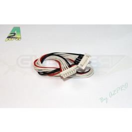 Rallonge 30cm jst-xh 5s ideal pour rallonger prise de rééquilibrage accus lipo 5s