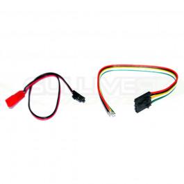 Cordon molex 5 poles video avec cordon alimentation pour émetteurs video IMMERSIONRC