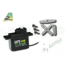 Servo micro digital 7450ng-d V2 (2.3kg et 0.098s sous 6v)