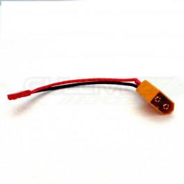 Adaptateur XT60 femelle vers JST male cable 10cm 20awg