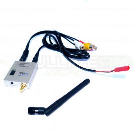 Récepteur vidéo compact 5,8ghz RC306 32 Canaux certification CE