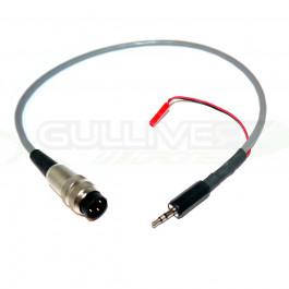TSLRS Cordon avec connecteurs radio Sherrer UHF pour radio Graupner/JR