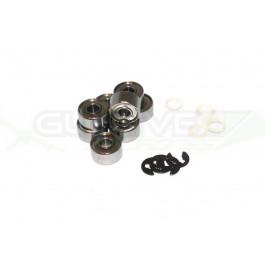 Roulements clips et rondelle pour 4 moteur Dji 2212 (F330/F450/F550/PHANTOM tous)