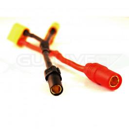 Adaptateur AS150+XT150 vers deux XT90 pour installation double batterie sur S1000