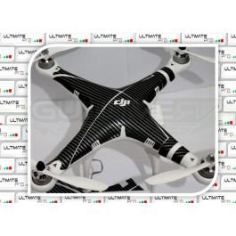 """Stickers pour carénage Phantom 2 """"Carbon"""""""