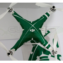 "Stickers pour carénage Phantom 2 ""Green"""