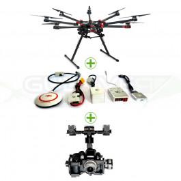 Dji S1000 Premium + A2 + Z15-GH4 (HD)