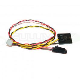 Cordon Plug&Play pour émetteur vidéo sur le FPV HUB (option) du Phantom