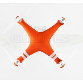 Housse silicone Orange pour carénage Phantom