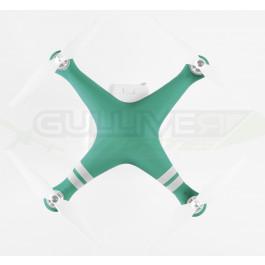 Housse silicone Vert pour carénage Phantom