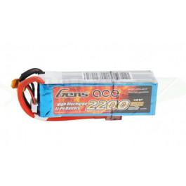 Batterie LI-PO Gens Ace 14.8v 25c 4s 2200mah