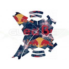 """Stickers pour carénage """"Red Bull"""" pour Phantoms (toutes versions)"""