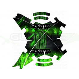 "Stickers pour carénage ""Monster Energy"" pour Phantoms (toutes versions)"