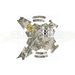 """Stickers pour carénage """"Militaire"""" pour Phantoms (toutes versions)"""