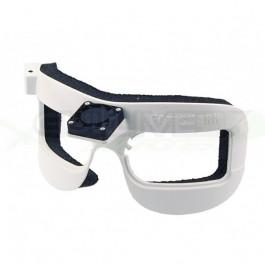 Masque ventilateur blanc pour Fatshark Dominator V2 et HD