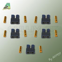 Connecteur EC3 Or Femelle (5 Pcs)