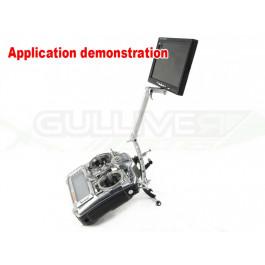 Support et rallonge aluminium pour écran