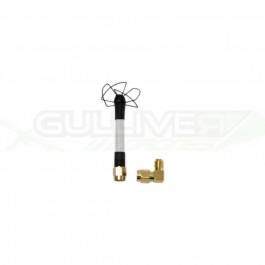 "Antenne Circular Wireless ""Skew Planar Wheel"" à polarisation circulaire 5.8Ghz SMA"
