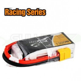 Batterie LI-PO Tattu 1300mAh 11.1v 75c 3s RS