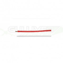 Cable silicone 18AWG (0.81mm²)  rouge - 1m