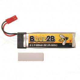 Batterie LIPO 600MAH 35c 1s pour Blade SR120/mQX/ Solo Pro 328