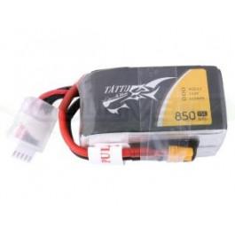 Batterie LI-PO Tattu 850mAh 14.8v 75c 4s XT30