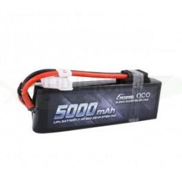 Batterie LI-PO Gens 7.4v 50c 2s 5000mah Connecteur TRX