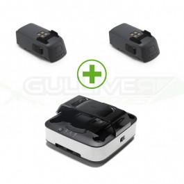 Station de charge portable + 2 batteries 1480mah pour Dji Spark