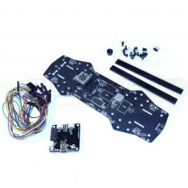 Platine PCB 4 couches modifiée V2 pour ZMR250 + CC3D + Micro minimOSD