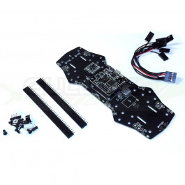 Platine pour ZMR250 PCB 4 couches modifiée V2 + Naze 32 Full + Micro minimOSD