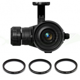 Pack 3 filtres étoile pour DJI Zenmuse X5/X5R/X5S - Freewell