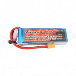 Batterie LI-PO Gens Ace 11.1v 25c 3s 2200mah XT60