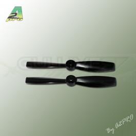 """Hélice Gemfan fibre SF 5x4,5"""" bullnose noir (2 pcs)"""
