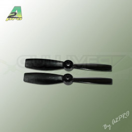 Hélice Gemfan Polycarbonate 4x4,5 Push Bullnose Noir (2 Pcs)