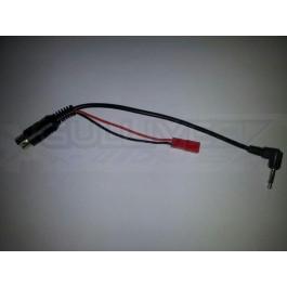 Cable EZUHF vers JR / GRAUPNER / HITEC / ETC