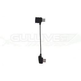 Câble smartphone (Micro USB reverse) pour Dji Mavic