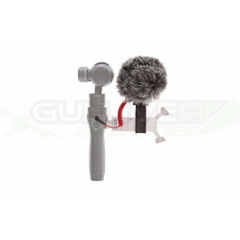 VideoMicro RODE + Support à démontage rapide pour micro 360° pour DJI Osmo