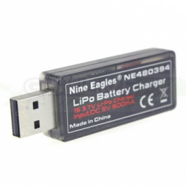 Chargeur USB 500ma prise BEC rouge