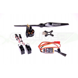 Pack motorisation pour aile volante TBS Caipirinha