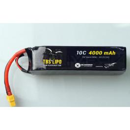 Batterie Lipo 4000mah 6s 10C TBS pour kit endurance