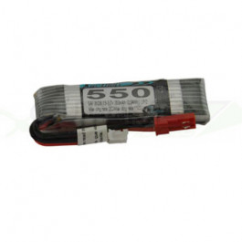 Batterie LI-PO 550mAh 3.7v 1s