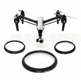 Pack 3 filtres étoile pour DJI Inspire 1 et Osmo - Freewell