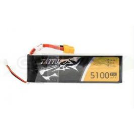 Batterie LI-PO Tattu 5100mAh 11.1v 10c 3s