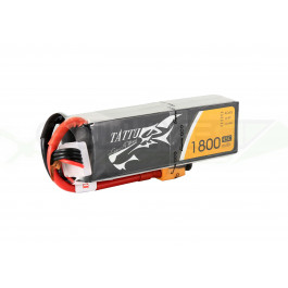 Batterie LI-PO Tattu 1800mAh 14.8v 45c 4s 1P