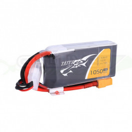 Batterie LI-PO Tattu 1050mAh 11.1v 75c 3s