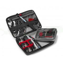 Sac à dos Offroad Stunt p/3 action cam+hybride+tablette-Noir